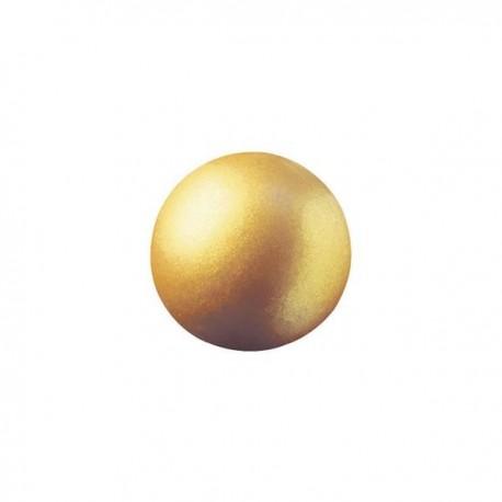 63 czekoladowe kule, złote, 2cm