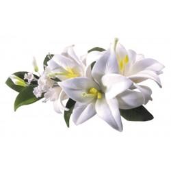 Bukiet cukrowy lilie