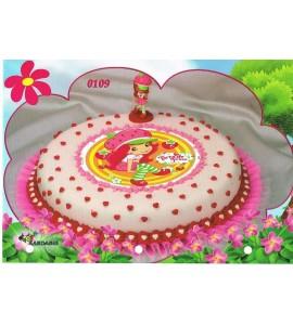 Zestaw Truskawkowe ciastko z figurką