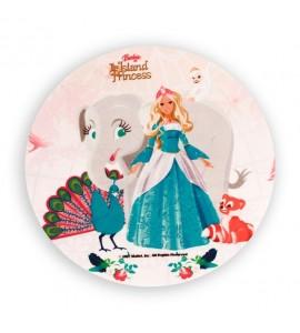 Opłatek waflowy Barbie Księżniczka Wyspy