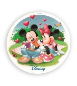 Opłatek waflowy Mickey & Minnie