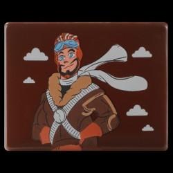 Plakietka czekoladowa Pilot WOOW