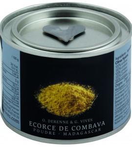 Sproszkowana skórka limonki Kaffir