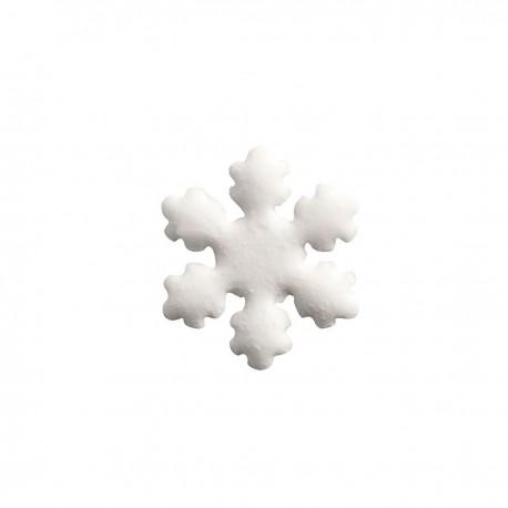 Dekoracja pianka płatki śniegu