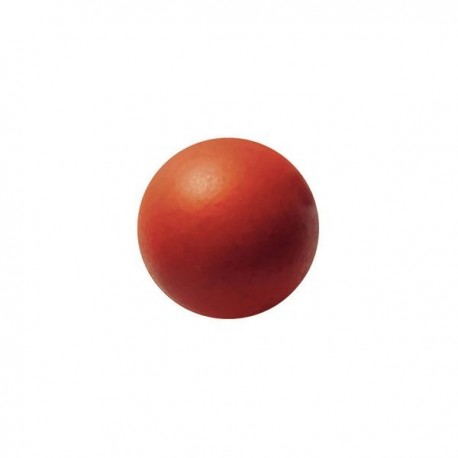 63 czekoladowe kule, czerwone, 2cm