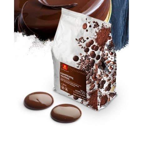 Czekolada deserowa VANINI 72% 15kg