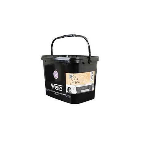 Czekolada biała Oryola 30% a 5kg