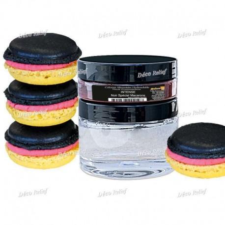Zestaw czarnego barwnika do makaroników