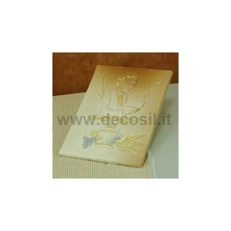 Forma silikonowa Tabliczka na Komunię dla chłopca