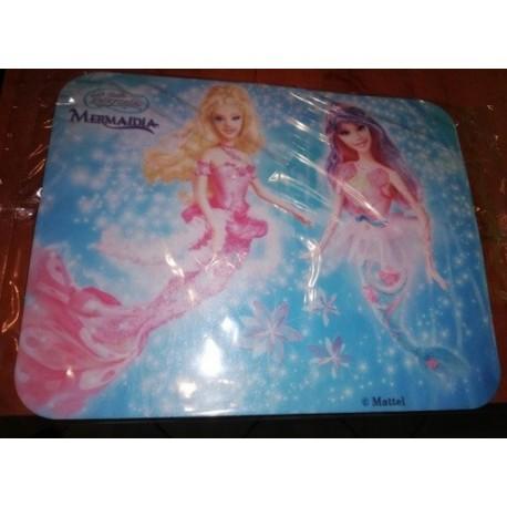 Opłatek waflowy prostokątny Barbie