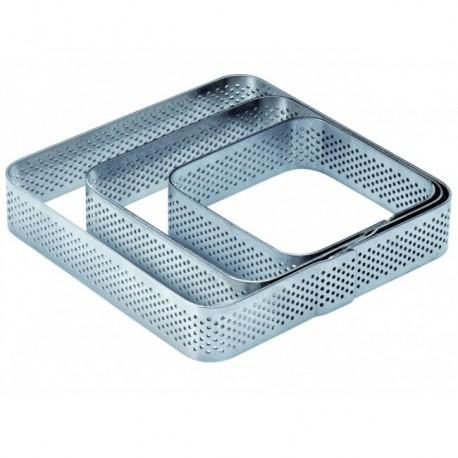 Rant perforowany kwadrat 10,5x10,5 2cm
