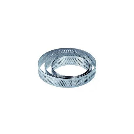 Rant perforowany okrągły wys. 2cm śr. 9cm XF9020