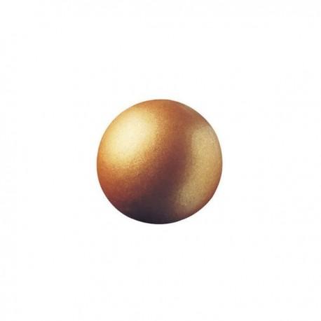 63 czekoladowe kule, brązowe, 2,6cm