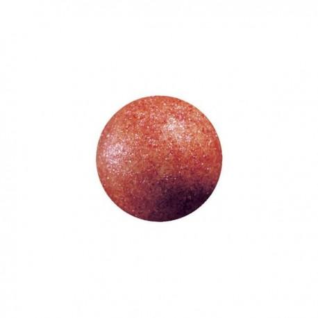 63 czekoladowe kule, rubinowe, 2,6cm