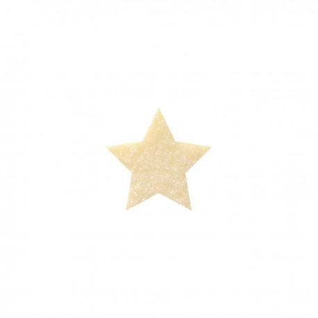 Dekoracja z białej czekolady Gwiazdki