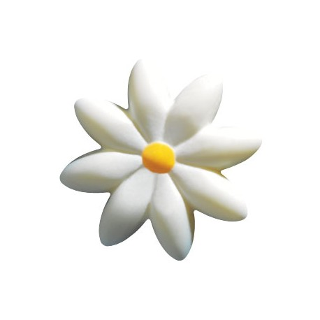 Białe Stokrotki 2cm 176szt.