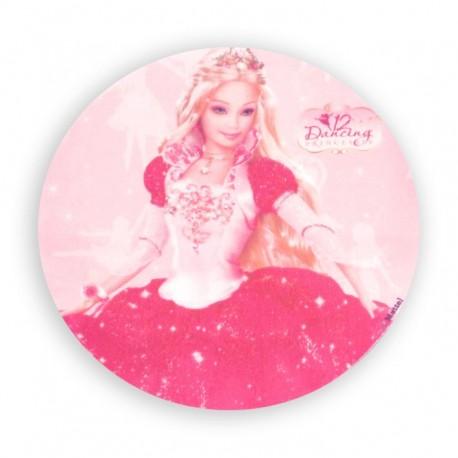 Opłatek waflowy Barbie Księżniczka