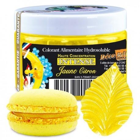 Barwnik w proszku żółty cytrynowy