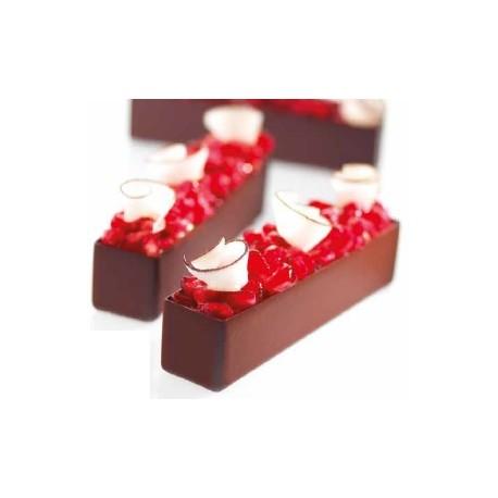 Korpusy z ciemnej czekolady...