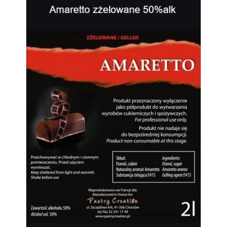 Amaretto zżelowane 2l