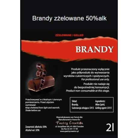 Brandy zżelowane 2l