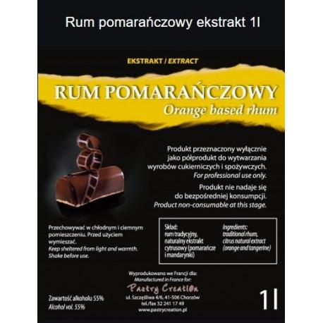 Ekstrakt rum pomarańczowy 1l