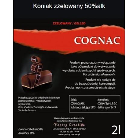 Koniak cognac zżelowany 2l