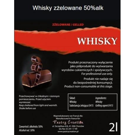 Whisky zżelowana 2l