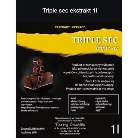 Ekstrakt Triple sec 60% 1l