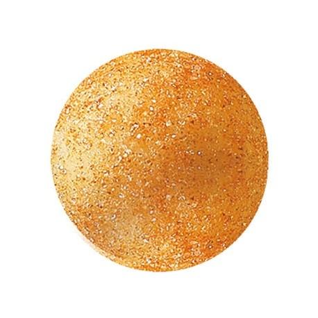 63 czekoladowe kule, złote, 2,6cm