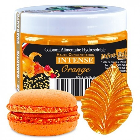 Barwnik w proszku pomarańczowy